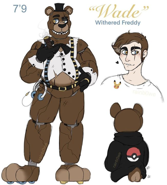 Five Nights At Freddy S Anime Withered Freddy Wattpad Freddy was mostly seen as agressive, grumpy, sarcastic, stubborn and distant, but he's also smart, logical and protective. anime withered freddy wattpad