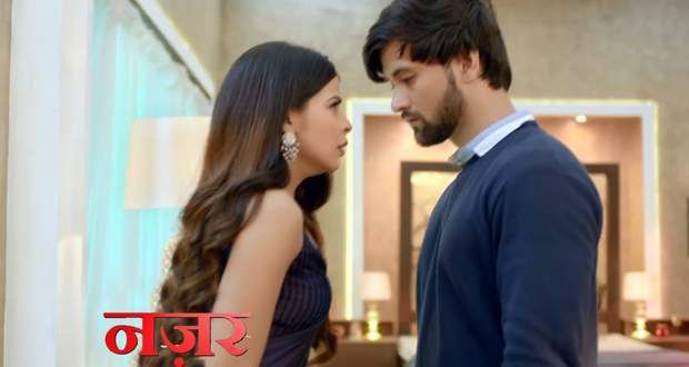 Mayank uses his powers and touched Tara's temples and the incident how Mayank's parents begged, but Yuvraj and Ananya took a sword and shoved each of the couple's heads, is clearly visioned by her