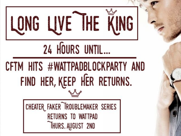 More exciting news guys! CFTM is going to be featured in the 2018 Summer Edition of KellyAnneBlount's amazing #WattpadBlockParty!
