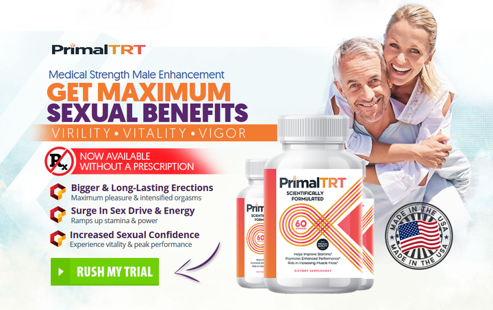 What is Primal TRT Male Enhancement Pills?   is another male improvement supplement