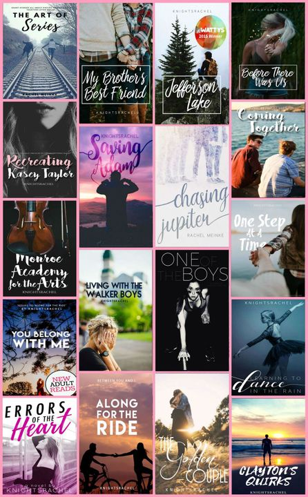 I go by knightsrachel here on the interweb, and I've been around on Wattpad for seven years