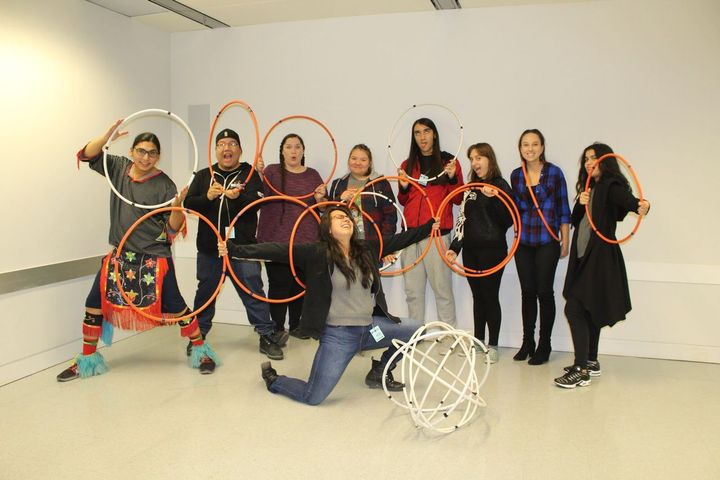 """""""It was great to learn and experience a different form of dance through the use of hoops"""