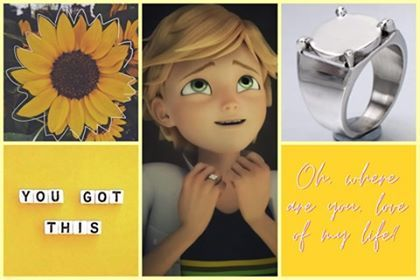 "Adrien Agreste""Oh, where are you, love of my life?"""