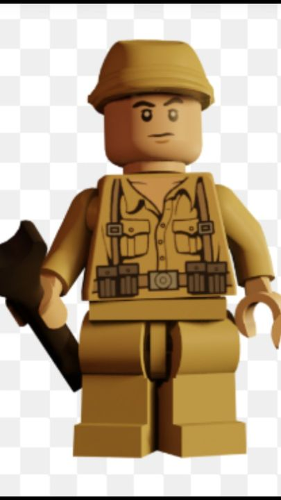 German soldier (lego indiana Jones 1 & 2)