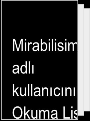 Mirabilisimm adlı kullanıcının Okuma Listesi