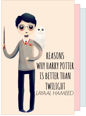 Why Harry Potter is better than twilight