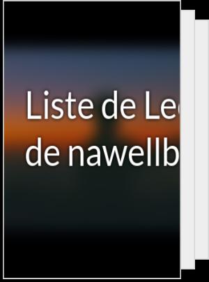 Liste de Lecture de nawellbkn