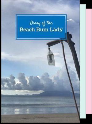 beach bum lady