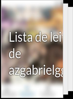 Lista de leituras de azgabrielgguchiha