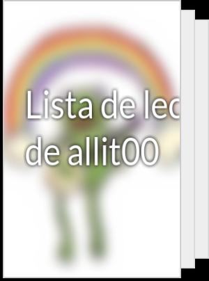Lista de lectura de DayanaraTaya3