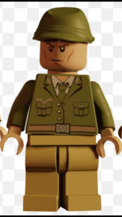 colonel dietrich (lego indiana Jones 1 & 2)