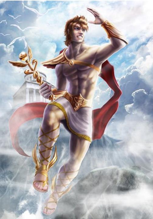 Brzi Hermes je za tren oka odjurio s Olimpa u Sipil, stao pred Tantala i rekao mu:
