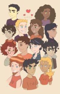 Heroes of Olympus at Disneyland  cover