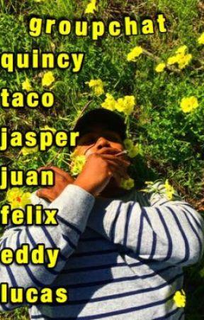 groupchat | quincy, taco, jasper, juan, felix, eddy & lucas. by islandmami