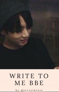 Write To Me Bbe 🌸 ||jjk+kth ||skończone cover