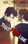 That Fine Line (Larry AU) cover