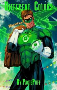 DIFFERENT COLORS(green lantern x reader) cover