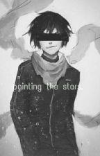 Painting the stars.  by elfinvirgo