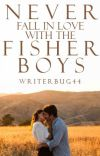 Never Fall in Love with the Fisher Boys cover