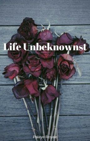 Life Unbeknownst - Palaye Royale by sorrybutimdone