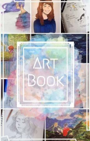 My Art Book | Two by dacatnxtdoor