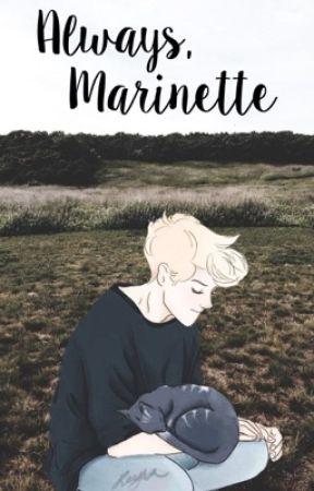 Always, Marinette • adrienette au by evertea