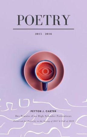2015-2016 Poetry by PopeInnocentXIV