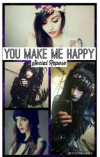 You make me happy- social repose by giselle_the_loser