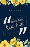 QUOTES BAPER : Kata Hati cover