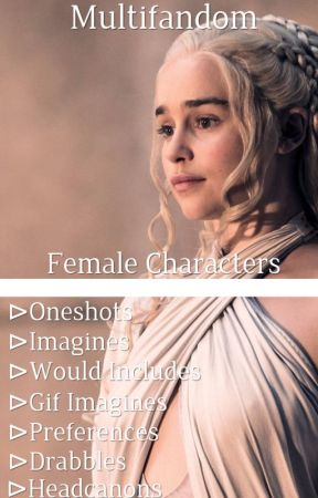fem!character x fem!reader by lottiethelesbo