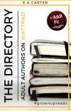 The Directory - Adult Authors on Wattpad cover