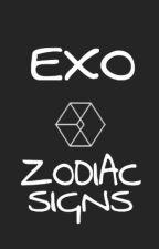 EXO Zodiac Signs (Some Smut) by SugaKookiesin_Jun