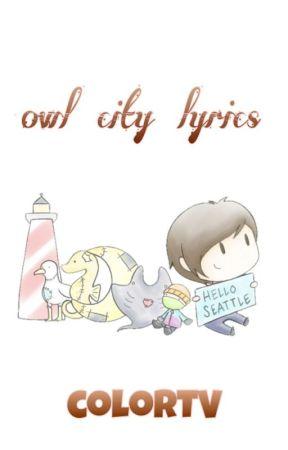 Owl City Lyrics by fugonara