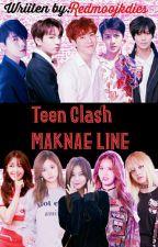 Teen Clash - MAKNAE LINE by Redmoonjkdies