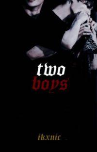 two boys » kookv / vkook  cover