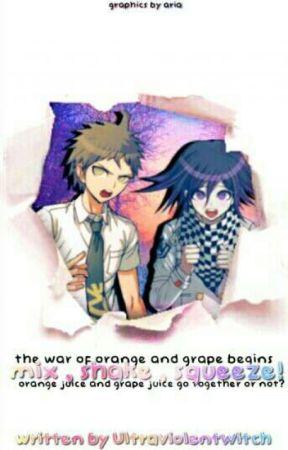 |Mix, Shake, Squeeze!| Orange Juice x Grape Panta by ult-chanseok