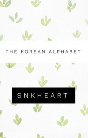 {The Korean Alphabet} by SnKHeart