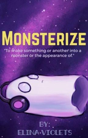Monsterize {Napstablook x OC} by ElinaViolets