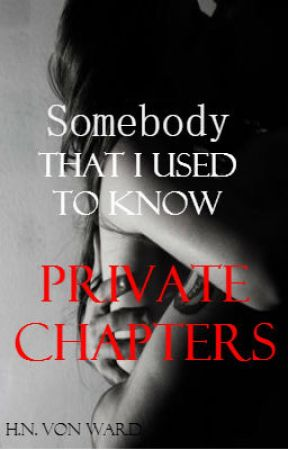 Somebody - PRIVATE CHAPTERS by Wowchilee