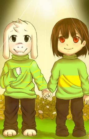 Asriel x Goat!Reader x Chara {Discontinued} by MelodyEvergreen