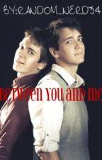 Between You and Me (George Weasley Love story) by random_nerd34