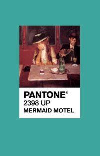 mermaid motel ⇾ elizabeth olsen ✓ cover