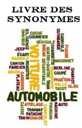 Livre des Synonymes by atelierdecriture