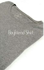 Boyfriend Shirt by TurtleCat5