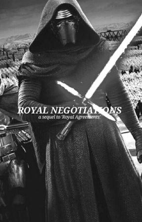 Royal Negotiations [Kylo Ren x Reader] by violaeades