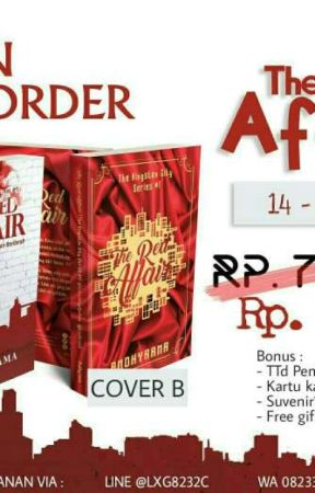 OPEN PO THE RED AFFAIR @ANDHYRAMA by FreakbutAwesome