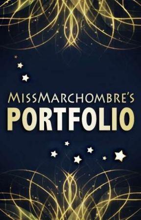 Portfolio Marchombre  [OUVERT] by MissMarchombre