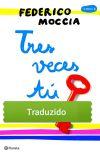 Três veces tú (Traduzido em português) cover