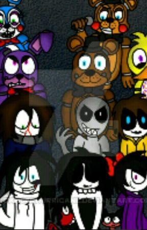 Five Nights at Creepypastas (By CreepyBlacky) by CreepyBlacky