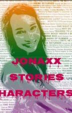 Jonaxx Stories Characters by MissMagisa